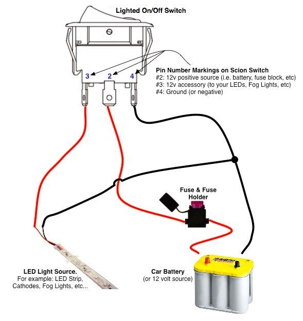 Enjoyable On Off Switch Led Rocker Switch Wiring Diagrams Oznium Wiring Cloud Licukaidewilluminateatxorg