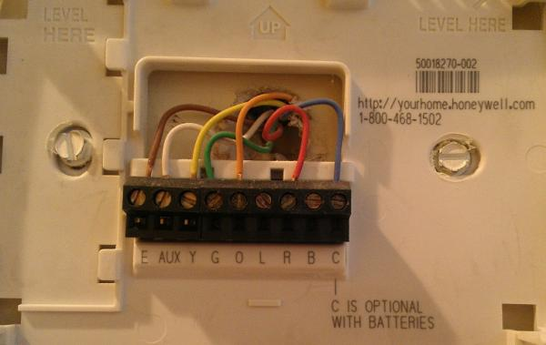 Marvelous Question Regarding A Honeywell Thermostat Wiring The New Unit Wiring Cloud Inklaidewilluminateatxorg