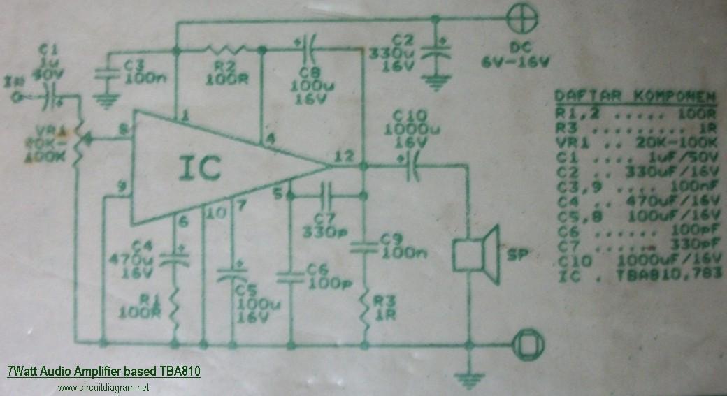 Business & Industrial MBA810DAS Tesla 7W Audio Power Output ...