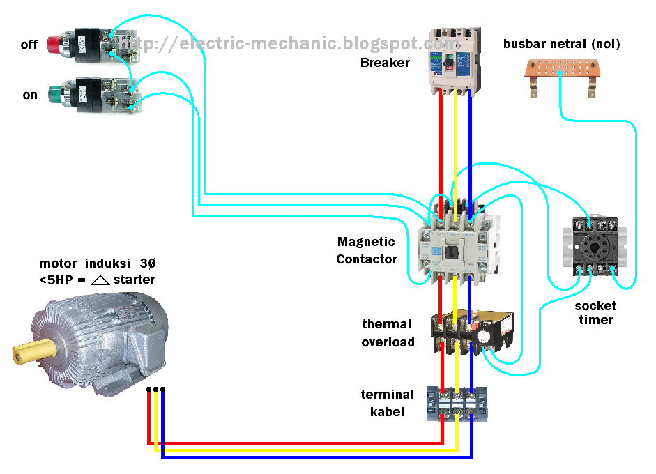 View 42   Dol Starter Control Circuit Diagram With Timer