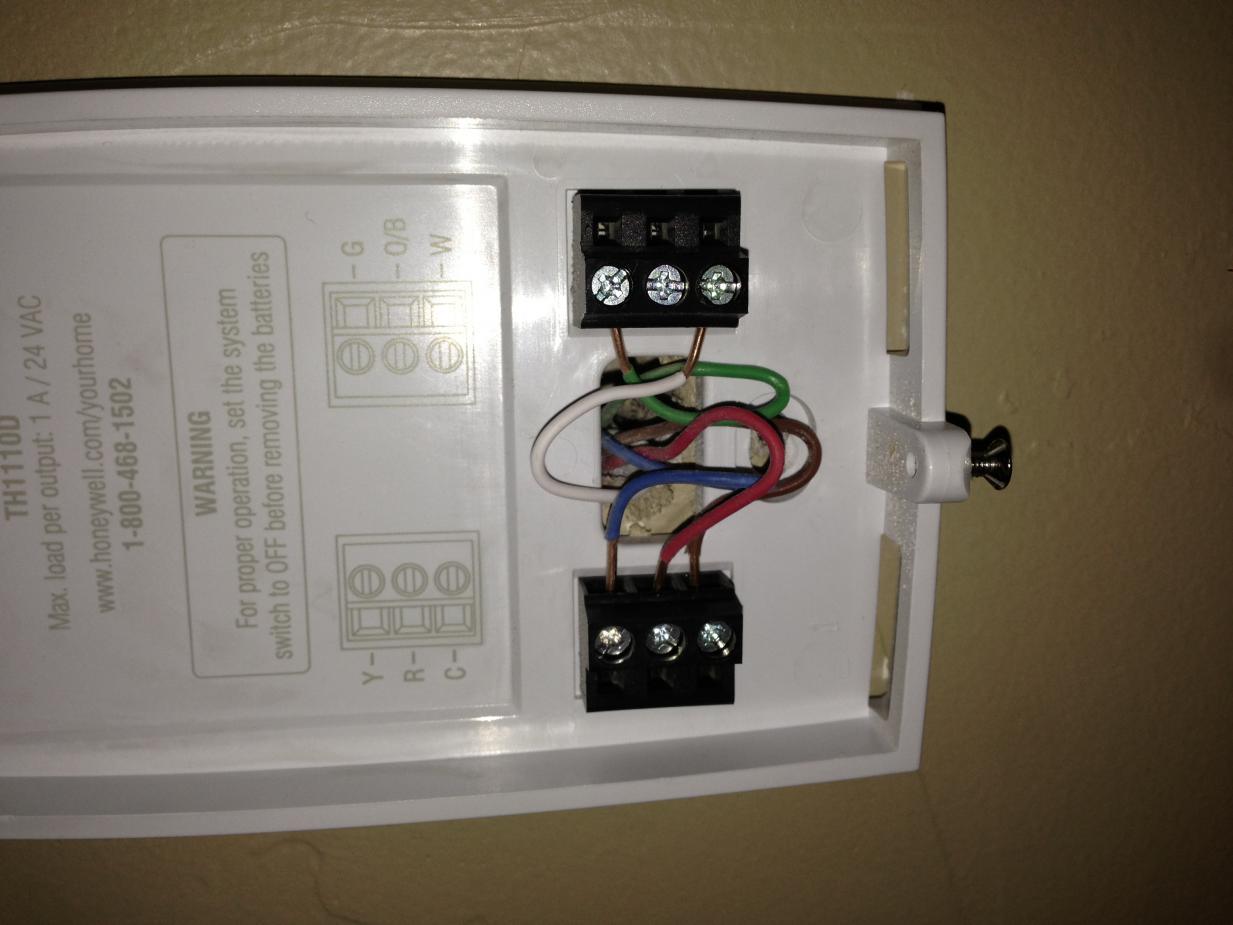 Tl 4067 Wiring A Honeywell Thermostat With 4 Wires Schematic Wiring