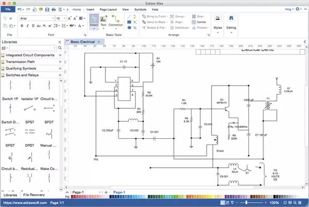 Swell Draw Electronic Circuits Basic Electronics Wiring Diagram Wiring Cloud Cranvenetmohammedshrineorg