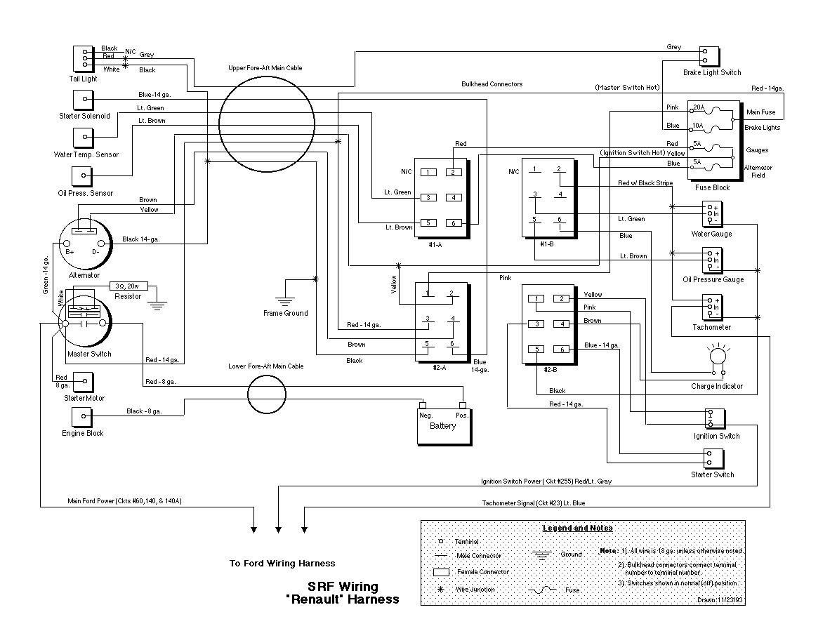 Renault Scenic Mk2 Wiring Diagram