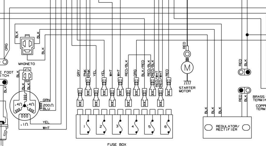 Bg 4412  1995 Polaris 300 4x4 Wiring Diagram Free
