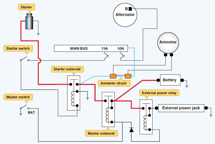 tb7952 aircraft alternator wiring diagram schematic wiring