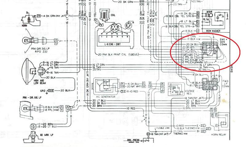 1965 Gto Tach Wiring Diagram