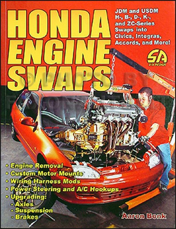 Stupendous Honda Engine Swaps How To Swap 1984 2003 Engines B W Wiring Cloud Grayisramohammedshrineorg