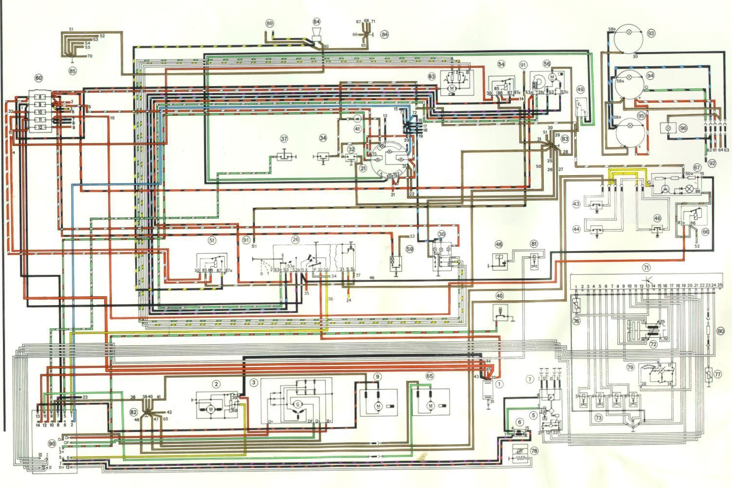 porsche 356 pre a wiring diagram tv 4749  diagram further 1975 porsche 914 color wiring diagram on  porsche 914 color wiring diagram
