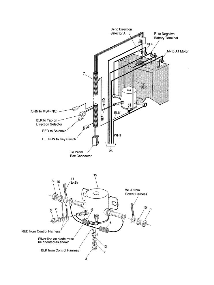 2001 ezgo pds 36v wiring diagram 1994 36 volt ezgo battery wiring diagram e1 wiring diagram  36 volt ezgo battery wiring diagram