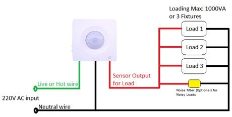 Marvelous Pir Wall Switch Wiring Diagram Basic Electronics Wiring Diagram Wiring Cloud Itislusmarecoveryedborg