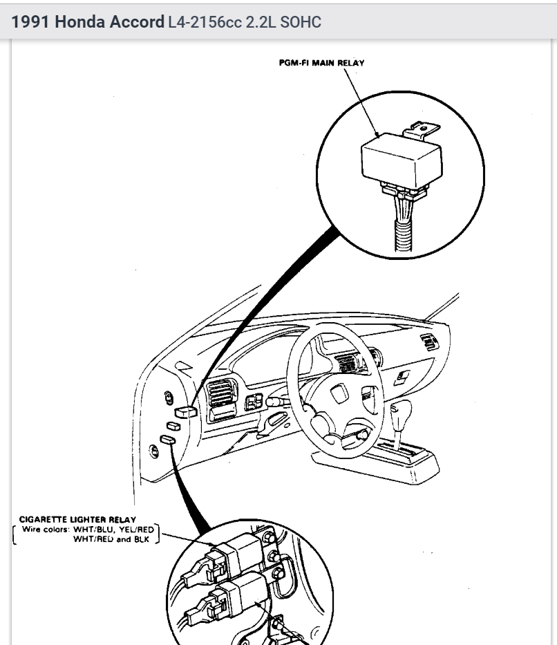 Honda Prelude Fuel Pump Wiring Diagram