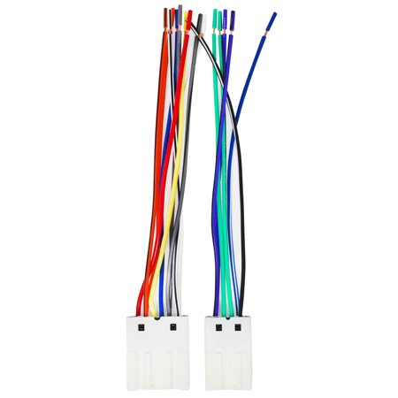 Groovy 2 Pack Replacement Radio Wiring Harness For 1999 Nissan Altima Gxe Wiring Cloud Staixaidewilluminateatxorg
