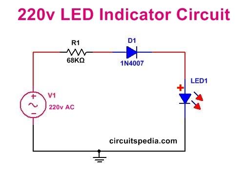 220v wiring diagram fs 8634  220v dc led indicator circuit diagram 220v motor wiring diagram 220v dc led indicator circuit diagram