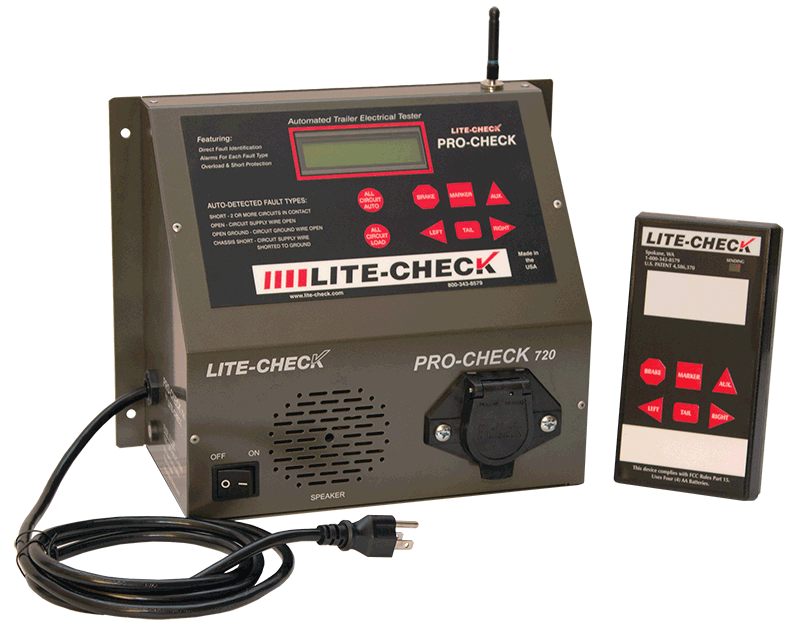 Incredible Pro Check Commercial Trailer Light Tester And Electric Diagnostics Wiring Cloud Hemtshollocom