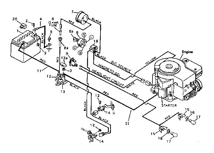 Sears Craftsman Riding Lawn Mower