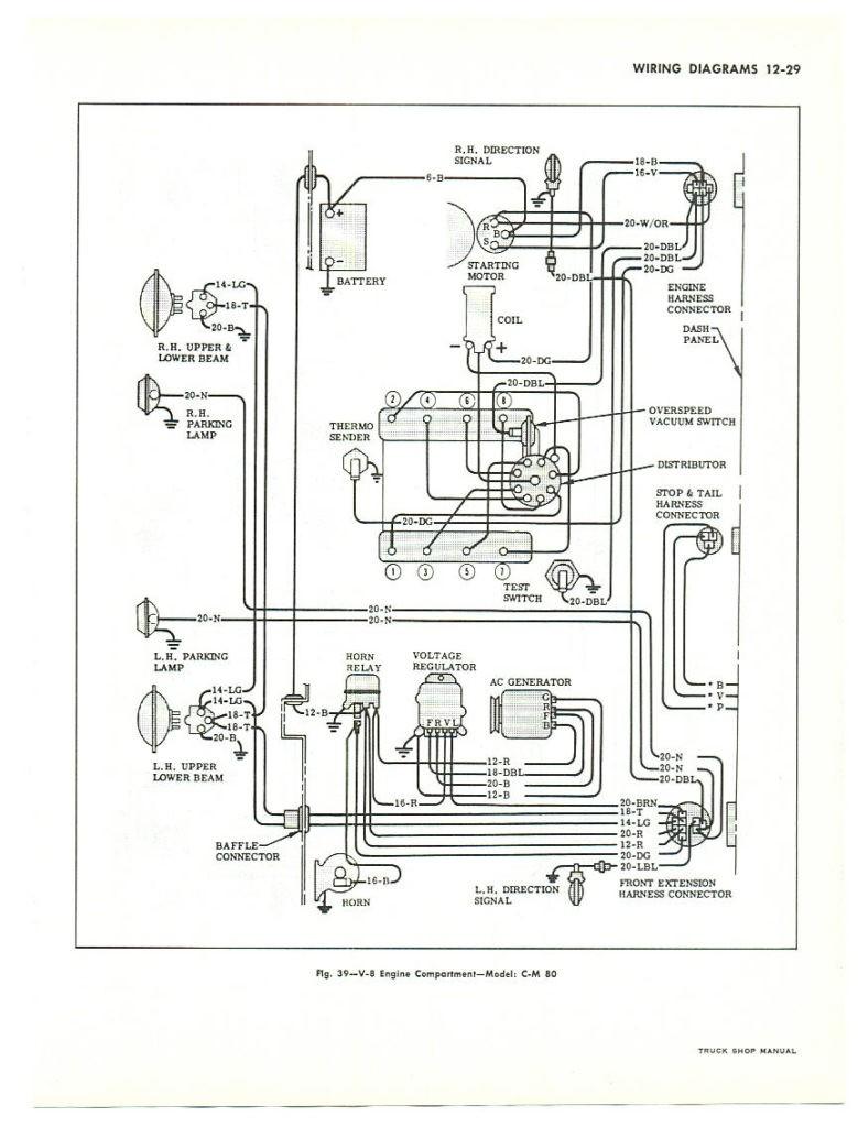 1963 Chevrolet Pickup Wiring