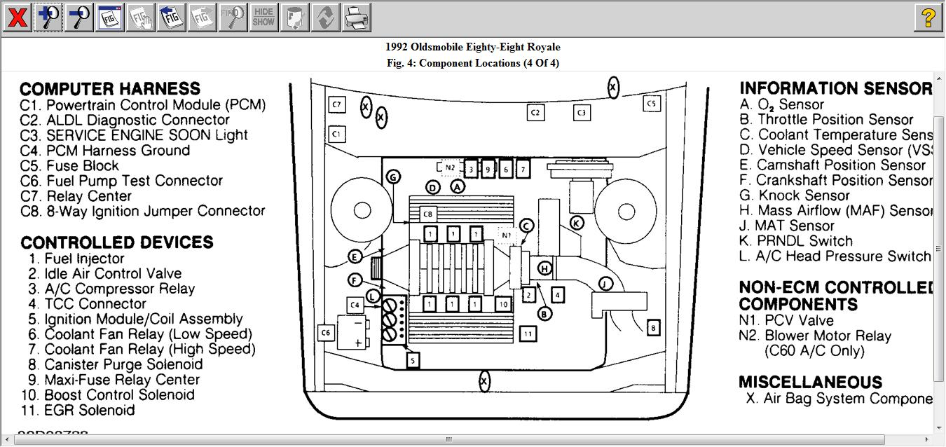 Fw 9628 1999 Oldsmobile Aurora Engine Diagram Download Diagram