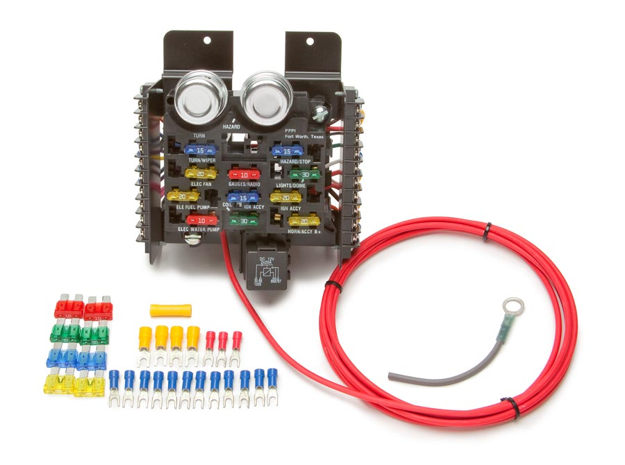 Peachy Race Pro Street Pre Wired 16 Circuit Fuse Block Painless Performance Wiring Cloud Ostrrenstrafr09Org