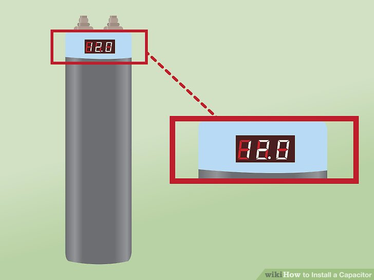 Stupendous How To Install A Capacitor With Pictures Wikihow Wiring Cloud Domeilariaidewilluminateatxorg