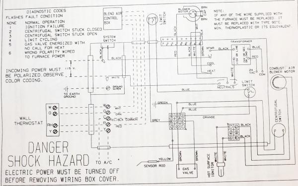 coleman wiring diagram od 8932  furnace wiring diagram moreover coleman gas furnace  furnace wiring diagram moreover coleman