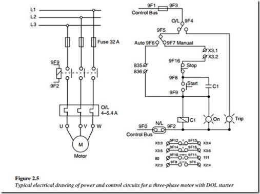 wt8870 phase starter wiring diagram three phase dol