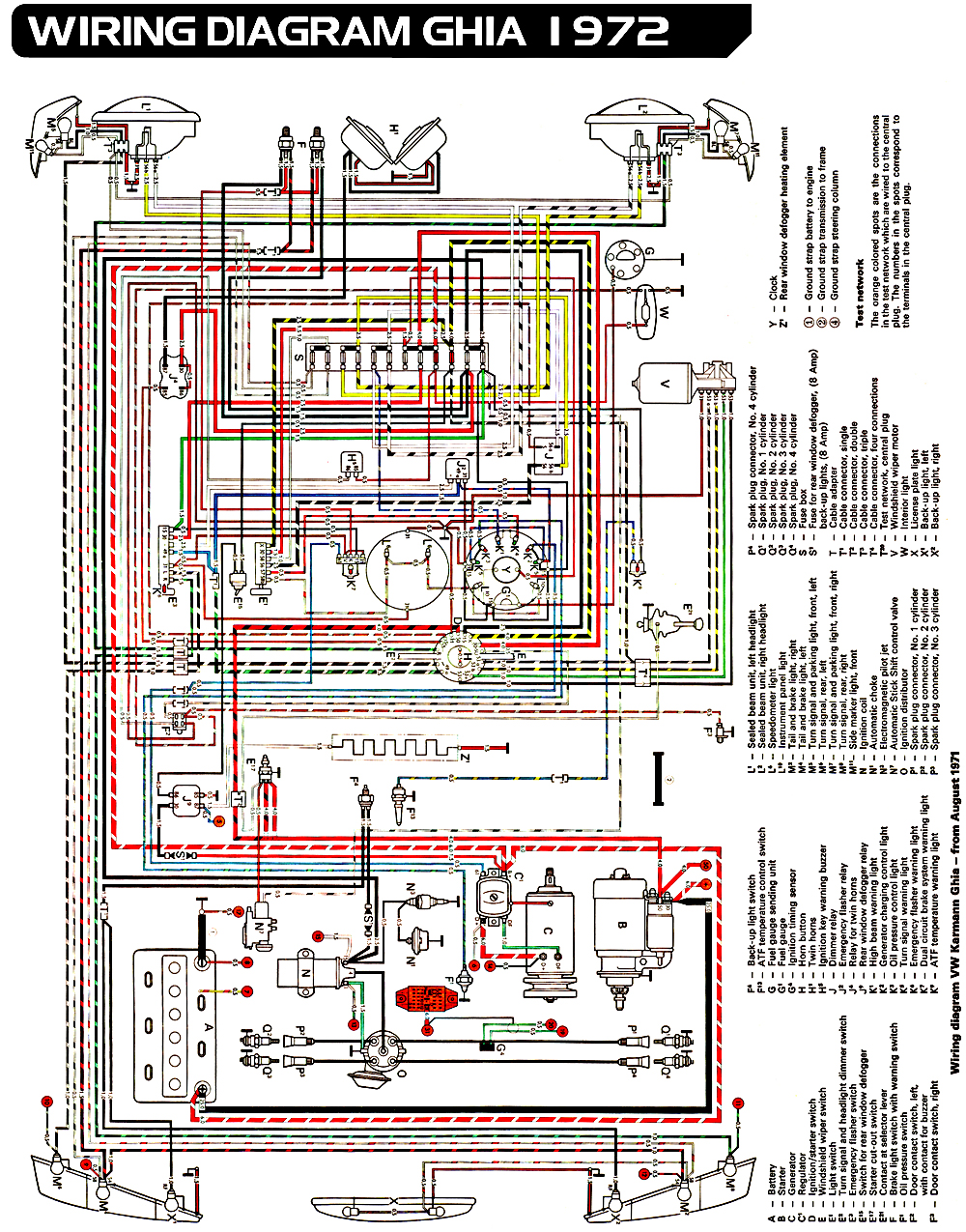 Volkswagen Wiring Diagram 1973 Vw Beetle - Wire Harness Connector Clip for Wiring  Diagram SchematicsWiring Diagram Schematics