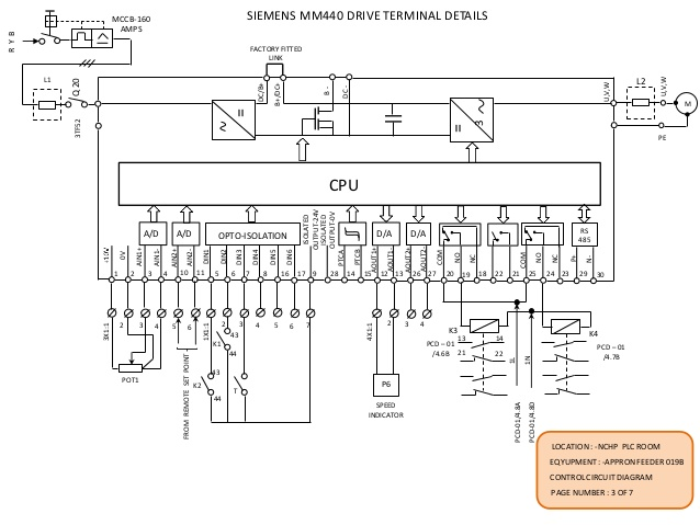 Micromaster 440 Schematic Diagram