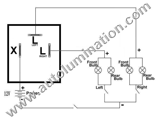 Tridon Flasher Wiring Diagram