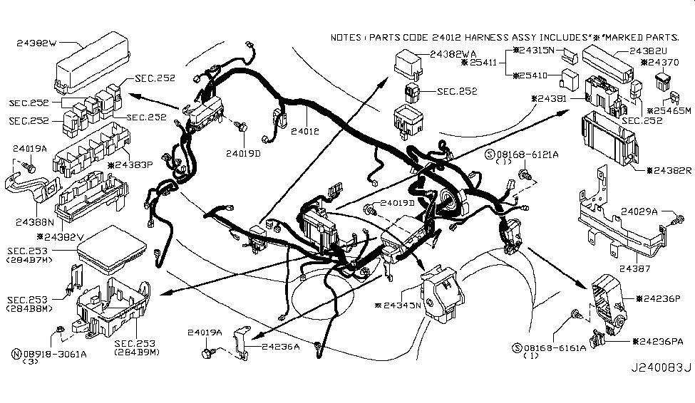 Terrific 2013 Nissan Juke Wiring Nissan Parts Deal Wiring Cloud Hemtegremohammedshrineorg