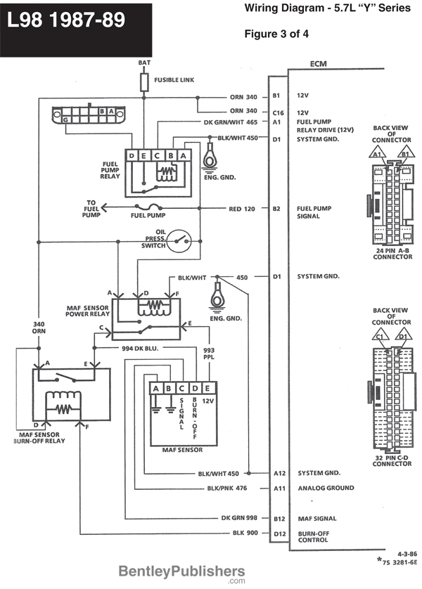 Wiring Diagram For A 1989 Chevrolet Camaro Pictures