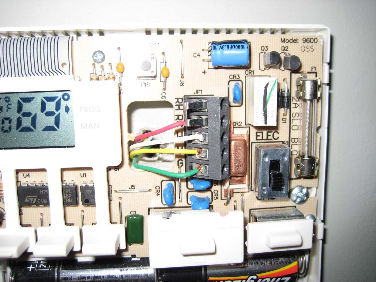 Robertshaw 9620 Wiring Diagram