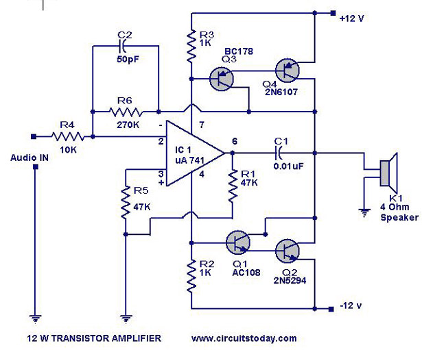 Miraculous Free Wiring Diagram Amplifier Power Watts Transistor Schematic Wiring Cloud Rometaidewilluminateatxorg