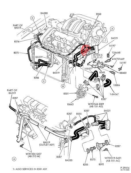 Superb 2000 Ford Taurus Hose Diagram Wiring Diagram M6 Wiring Cloud Timewinrebemohammedshrineorg