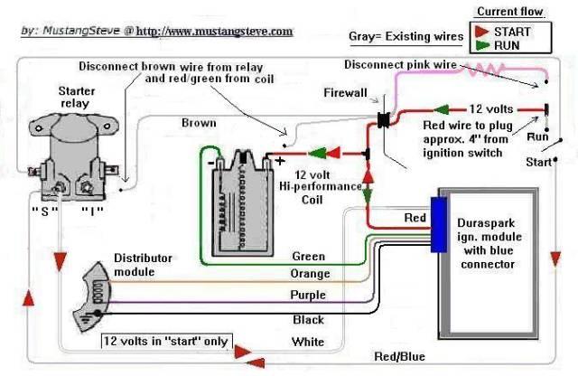 1969 mustang ignition wiring diagram vn 3877  duraspark hot wiring  vn 3877  duraspark hot wiring
