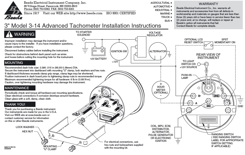 Faria Tachometer Wiring - 92 Camaro Deck Lid Wiring Diagram for Wiring  Diagram SchematicsWiring Diagram Schematics
