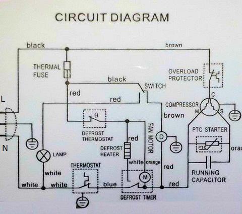 whirlpool freezer wiring diagram bg 6559  whirlpool defrost timer wiring diagram download diagram  whirlpool defrost timer wiring diagram