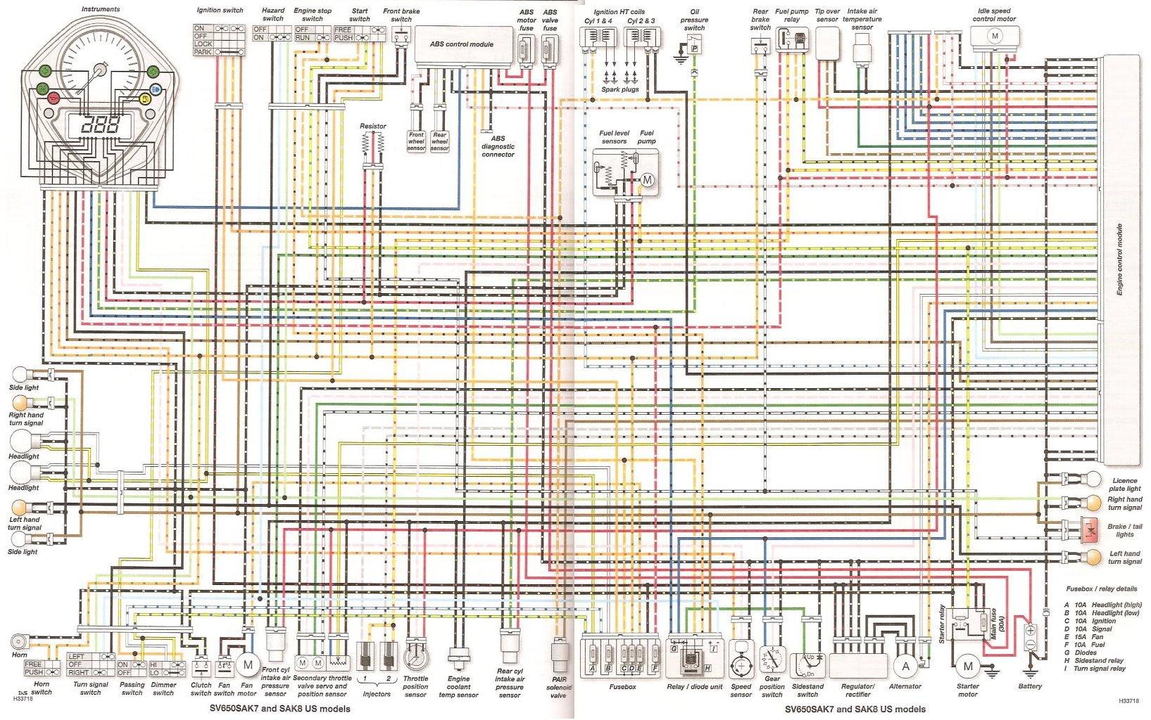 2002 Hayabusa Wiring Diagram