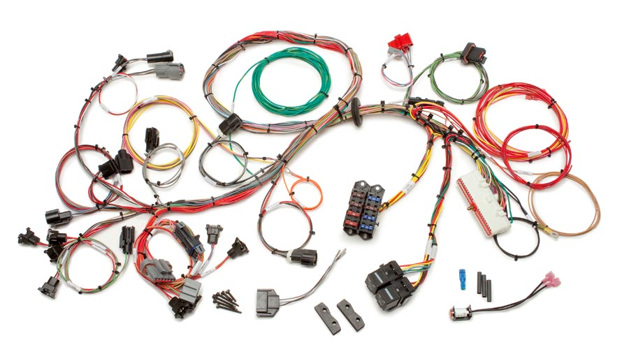 Magnificent Ford 1986 1995 5 0L Fuel Injection Wiring Harness Std Length Wiring Cloud Uslyletkolfr09Org