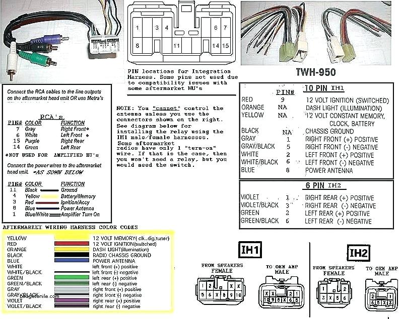 Pioneer Stereo Wiring Harness, Avic D3 Wiring Diagram