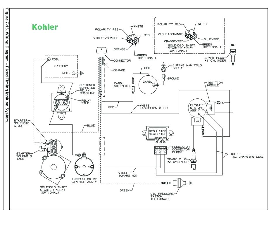 Wiring Diagram For 18 Hp Briggs Stratton Engine