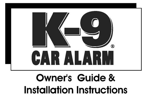 Admirable K9 Installation Manuals Wiring Cloud Intelaidewilluminateatxorg