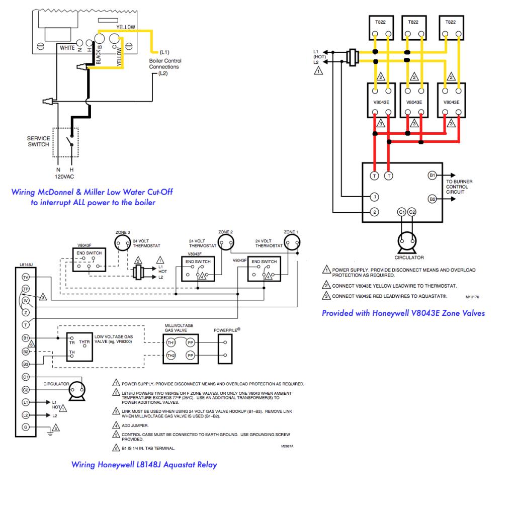 Superb Honeywell Triple Aquastat Wiring Action Wiring Library Wiring Cloud Gufailluminateatxorg