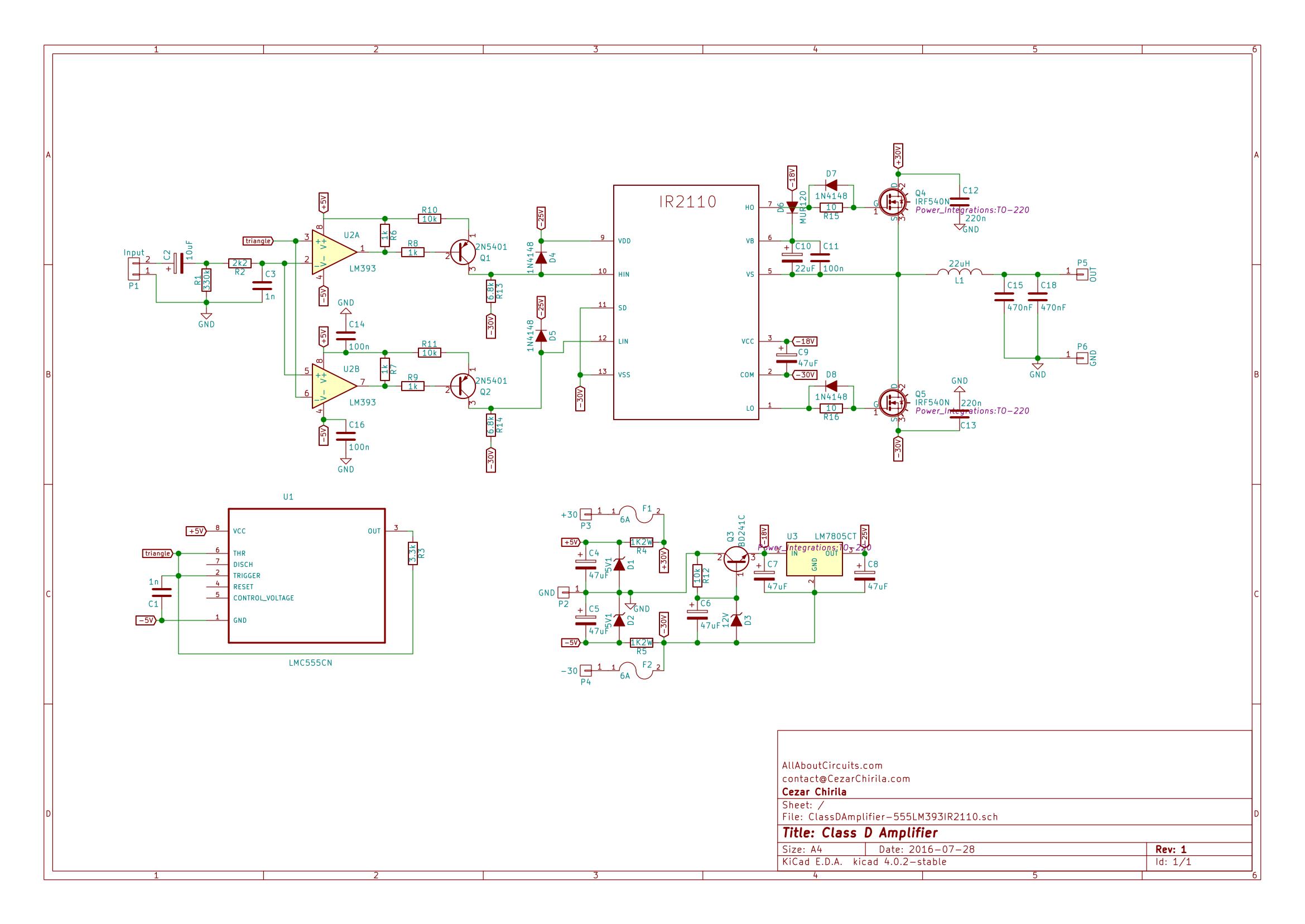 Admirable How To Build A Class D Power Amp Wiring Cloud Ittabisraaidewilluminateatxorg