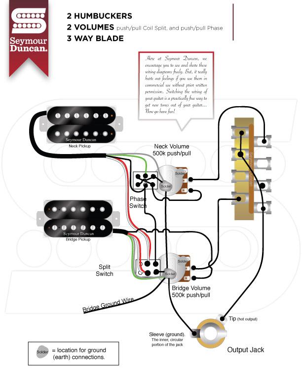 yw_8097] duncan coil split wiring diagram on 2 hum pickup wiring ... seymour duncan wiring diagram for 1 pickup coil split seymour duncan wiring diagrams ponge bocep mohammedshrine librar wiring 101