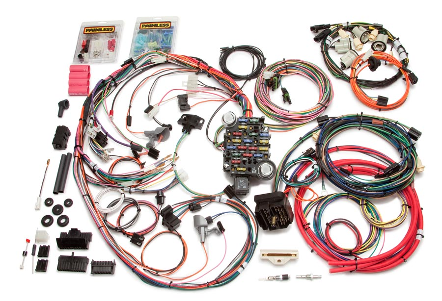 Amazing 26 Circuit Direct Fit 1974 77 Camaro Harness Painless Performance Wiring Cloud Ostrrenstrafr09Org