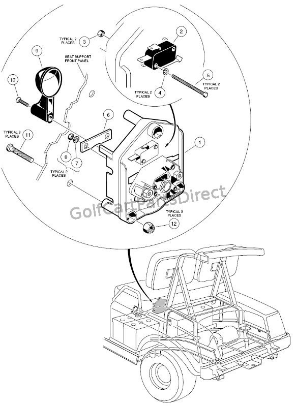 Fc 4165 Golf Cart Security Wiring Diagram Schematic Wiring