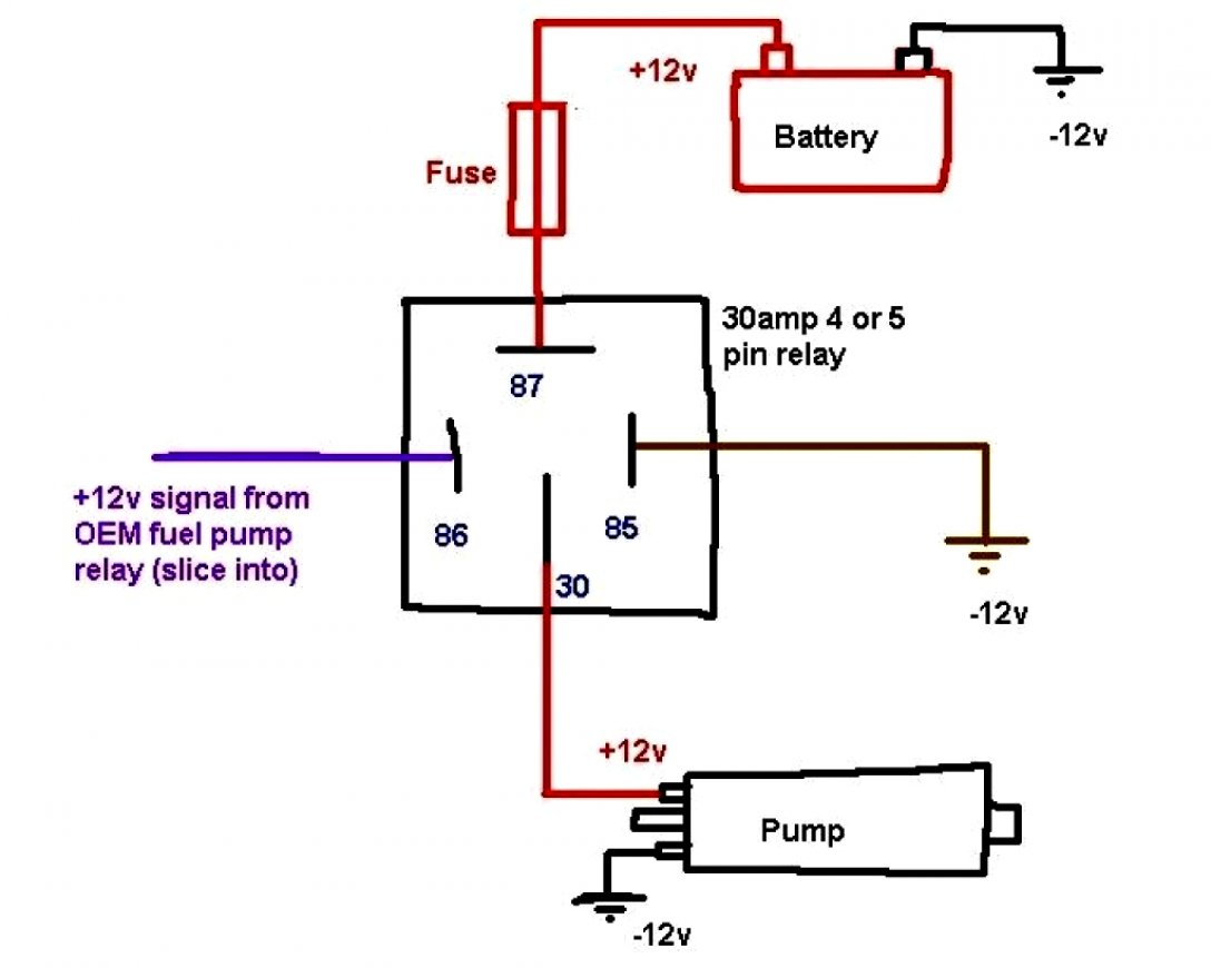 5 wire relay schematic 5 wire relay horn diagram wiring diagram data  5 wire relay horn diagram wiring