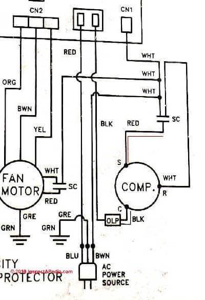 Terrific Electric Motor Capacitor Test Procedures Wiring Cloud Ostrrenstrafr09Org