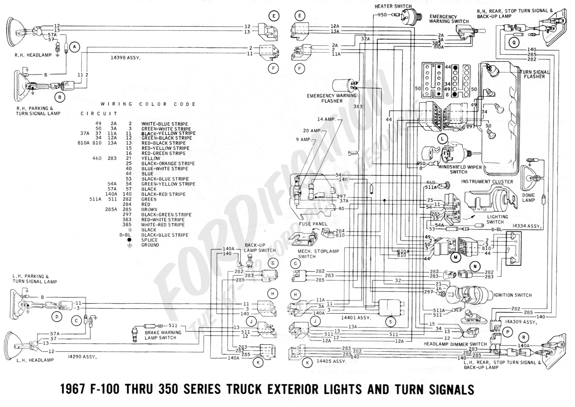 Surprising Ford Truck Ignition Wiring Basic Electronics Wiring Diagram Wiring Cloud Faunaidewilluminateatxorg