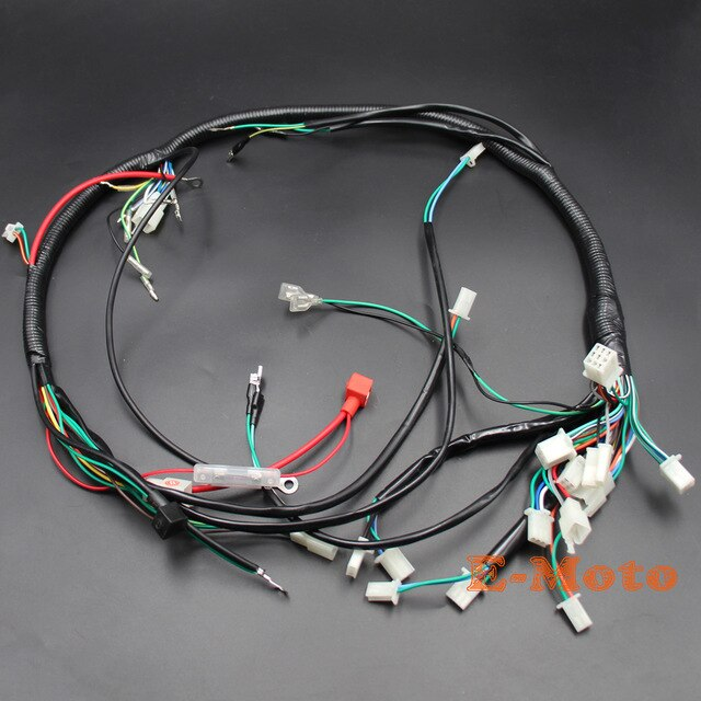 Brilliant Electric Parts Wire Cable Wiring Harness Loom Zongshen Loncin Lifan Wiring Cloud Overrenstrafr09Org
